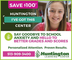 Athletic Sponsor Huntington Learning Center